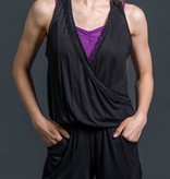 W/S Adult Apparel 'V' neck romper