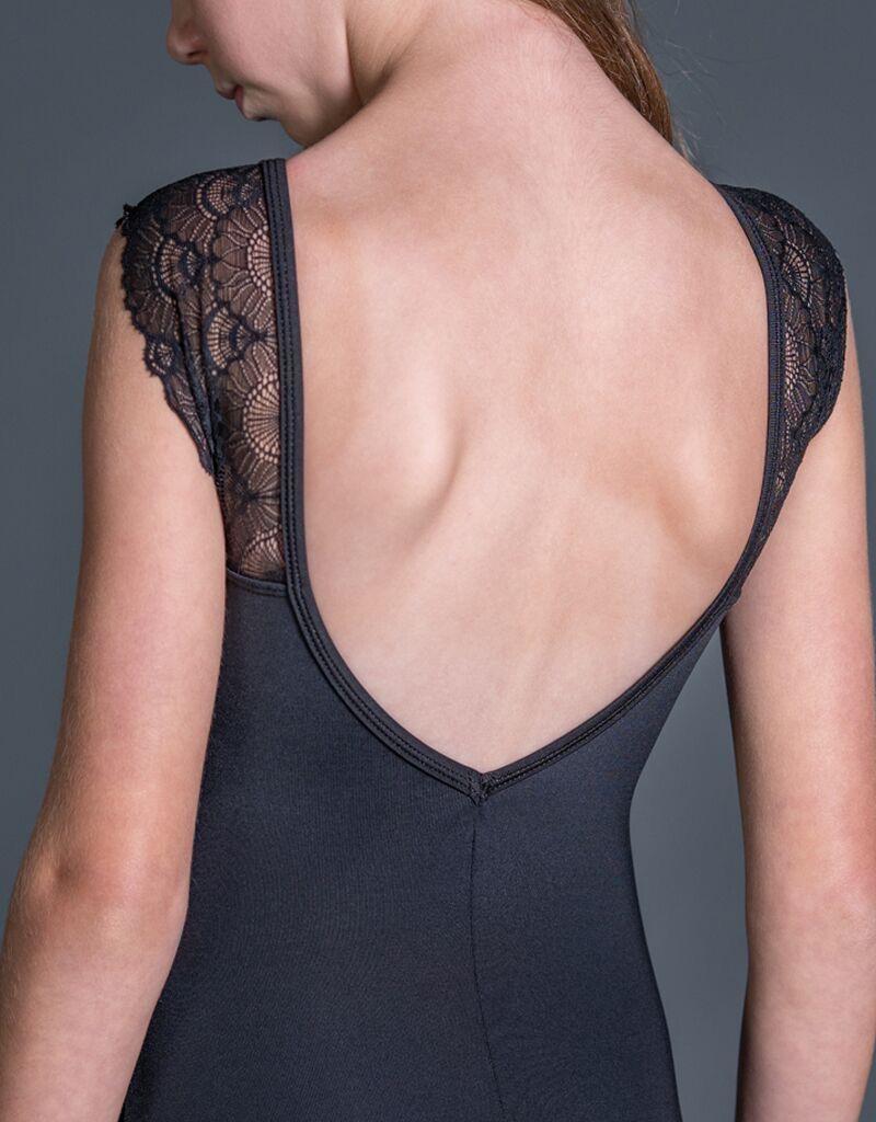 W/S Kid Apparel Streamline lace flutter sleeve