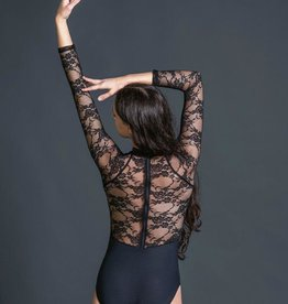W/S Adult Apparel Constance lace 3/4 sleeve with zip back