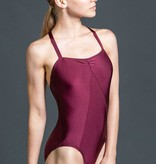W/S Adult Apparel Symmetry princess seam leotard with front and back pinch