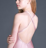W/S Kid Apparel Symmetry princess seam leotard with front and back pinch