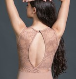 W/S Adult Apparel Constance jewel neck with lace fish back