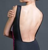 W/S Adult Apparel Art Nouveau bateau-neck with square back