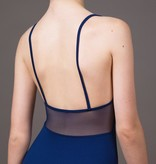 W/S Kid Apparel Holiday lace jewel neck with mesh back