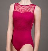 W/S Adult Apparel Holiday lace sweetheart tank