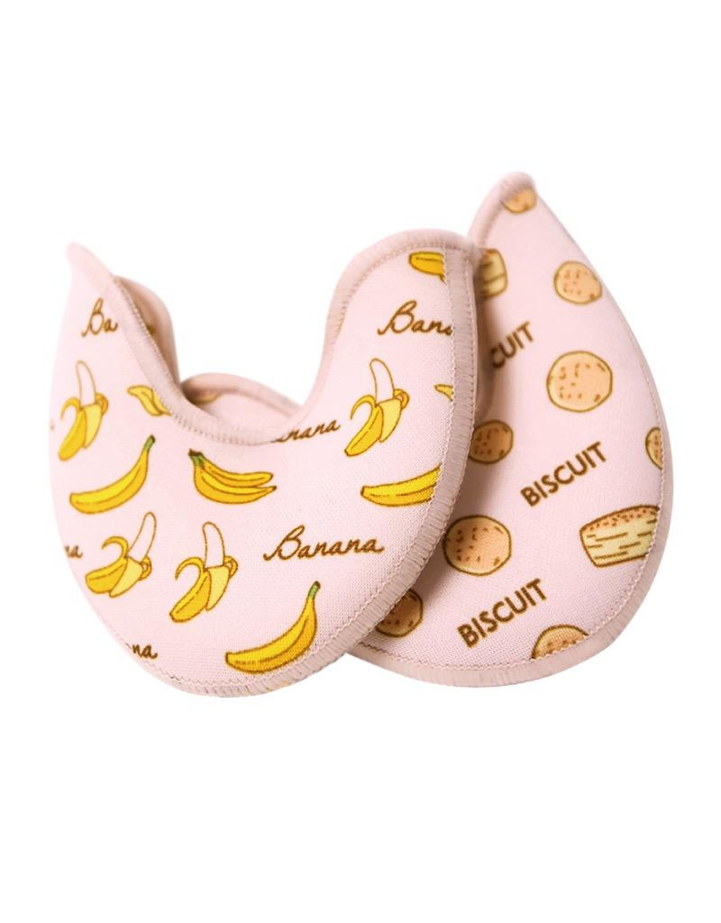 W/S Accessory Printed Crescent Shaped Toe Pad