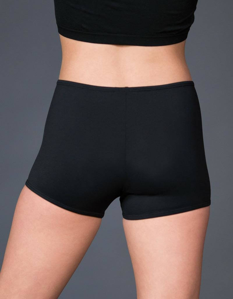 W/S Adult Apparel Basic Straight Waist Bootie Short