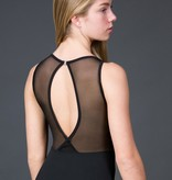 W/S Adult Apparel Jewel neck with mesh fish back
