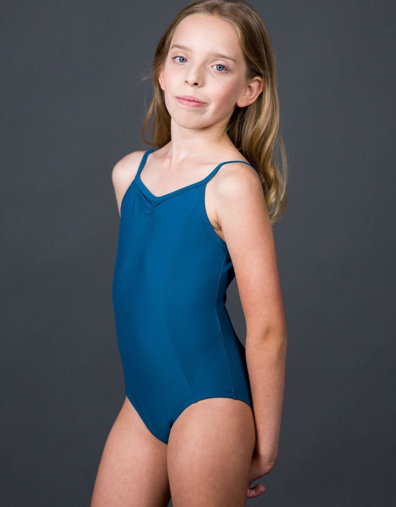 W/S Kid Apparel Pinch Front Camisole With Princess Seams