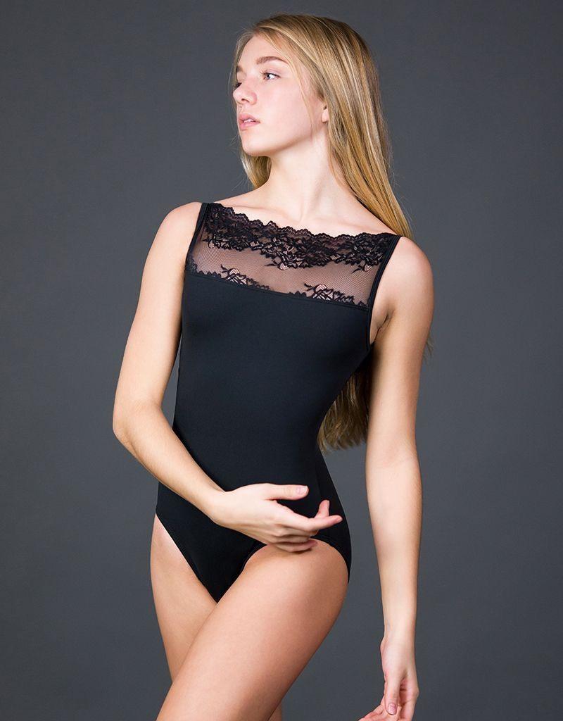 W/S Adult Apparel Summer Lace Bateau Neck