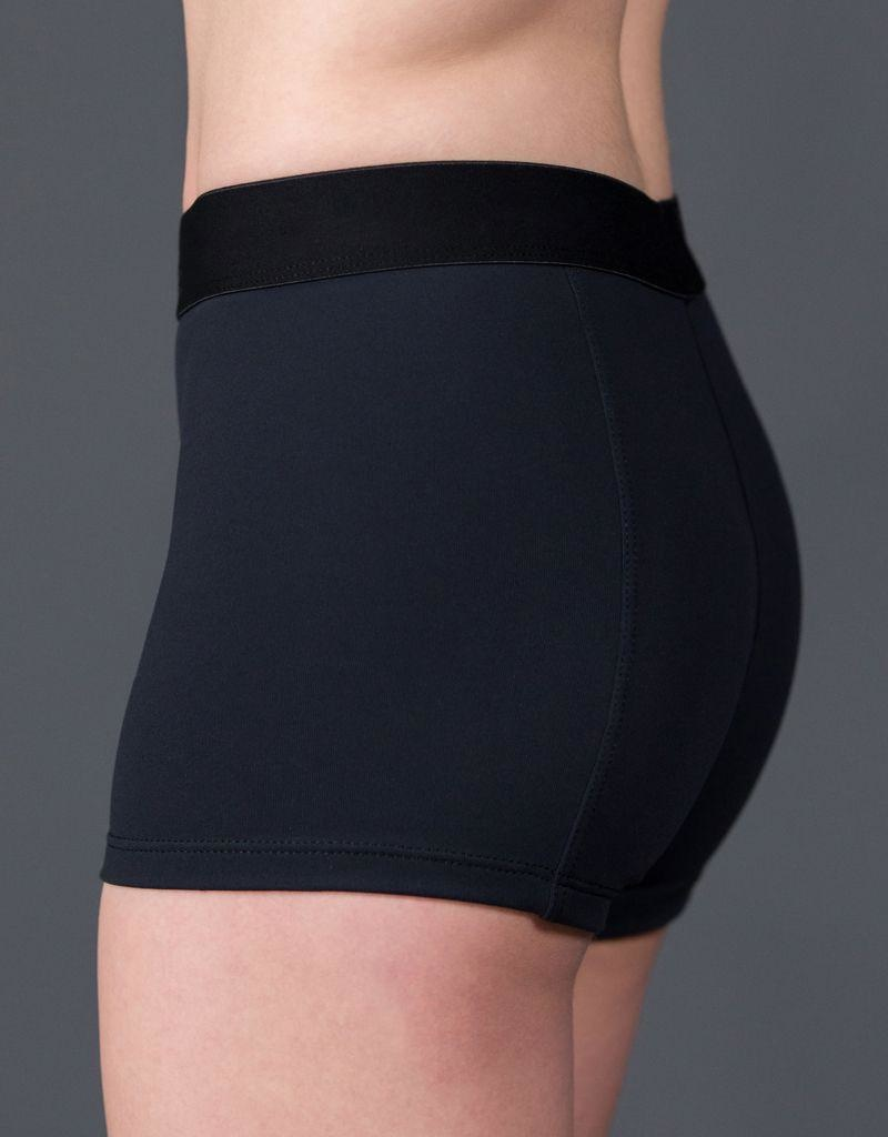 W/S Adult Apparel Soft Elastic Waistband Short