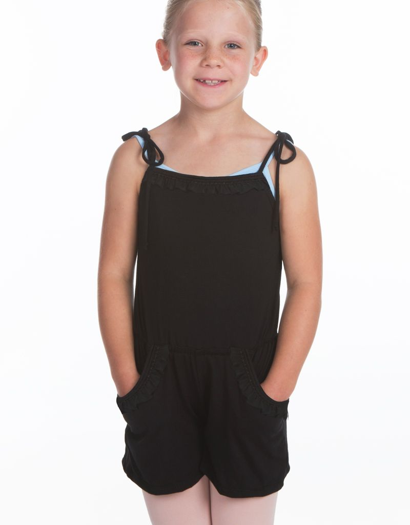 W/S Kid Apparel Tie strap romper