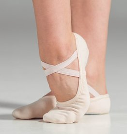W/S Dance Shoe Slipor Stretch Canvas Split Sole Ballet Shoe