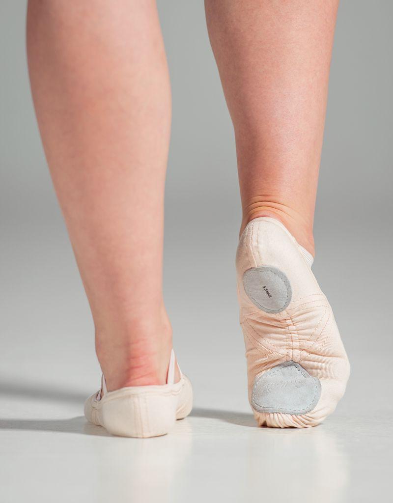 W/S Dance Shoe Slipor Stretch Canvas Split Sole Ballet Shoe-AN