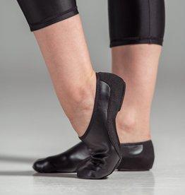 W/S Dance Shoe Suede Jazz Shoe- Adult Medium