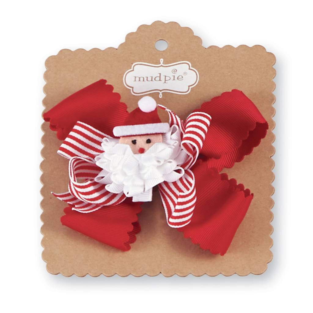 MUD PIE 3-IN-1 HOLIDAY BOW