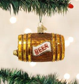 OLD WORLD CHRISTMAS BEER KEG