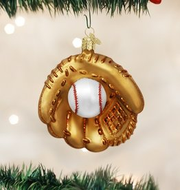 OLD WORLD CHRISTMAS BASEBALL MITT