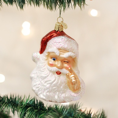 OLD WORLD CHRISTMAS NIGHT BEFORE CHRISTMAS SANTA