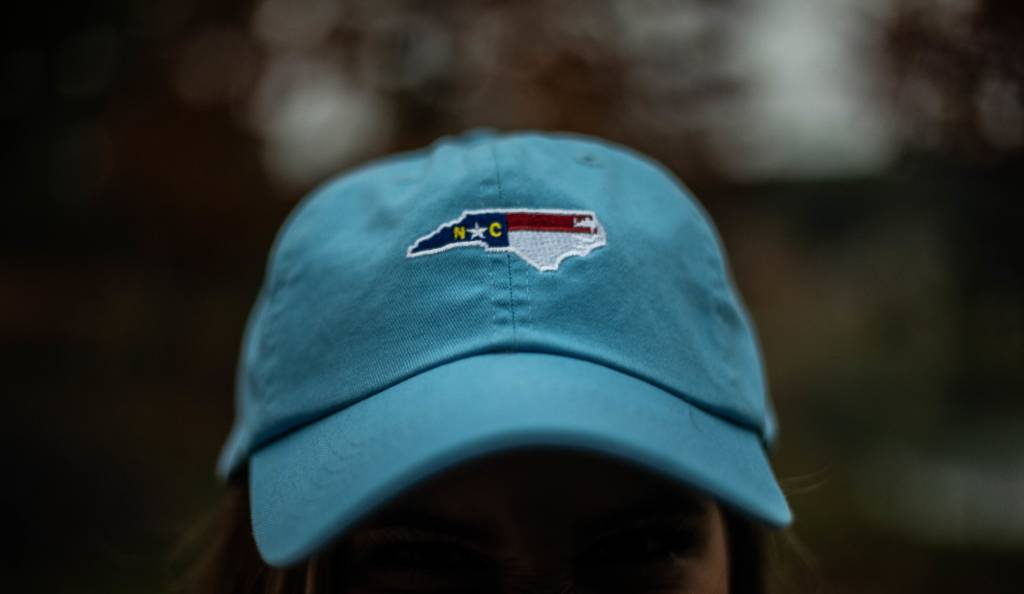 NORTH CAROLINA ADJUSTABLE HAT