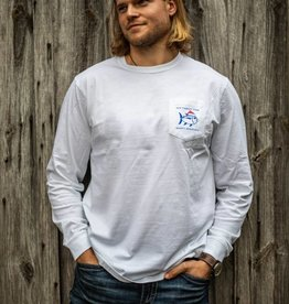 SOUTHERN TIDE DAY AFTER CHRISTMAS TEE L/S CLASSIC WHITE