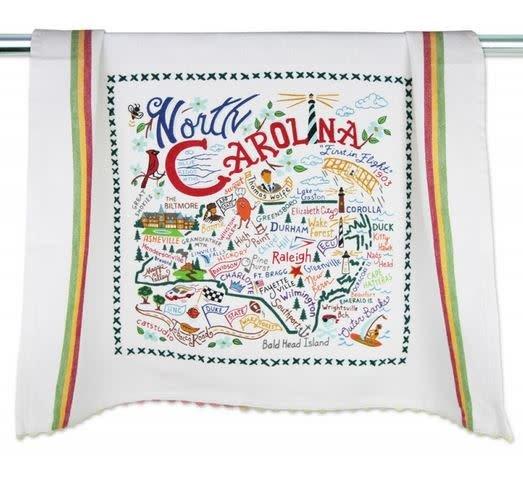 CATSTUDIO CATSTUDIO GEOGRAPHY DISH TOWEL