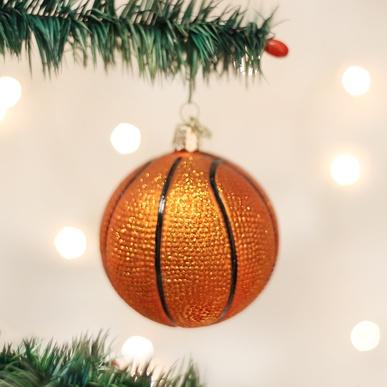 OLD WORLD CHRISTMAS BASKETBALL