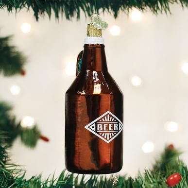 OLD WORLD CHRISTMAS BEER GROWLER
