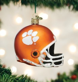 OLD WORLD CHRISTMAS CLEMSON HELMET