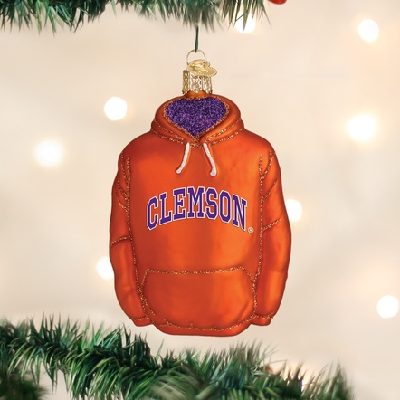 OLD WORLD CHRISTMAS CLEMSON HOODIE