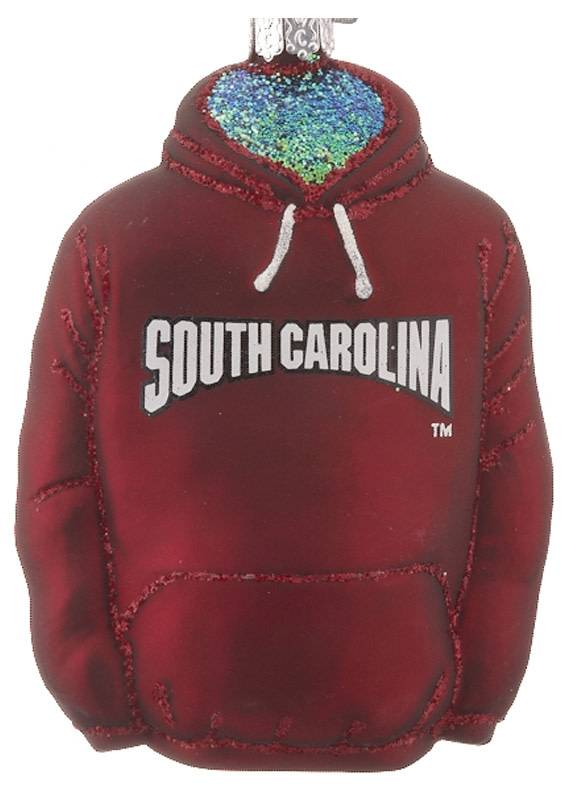 OLD WORLD CHRISTMAS SOUTH CAROLINA HOODIE ORNAMENT