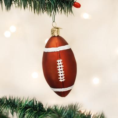 OLD WORLD CHRISTMAS FOOTBALL