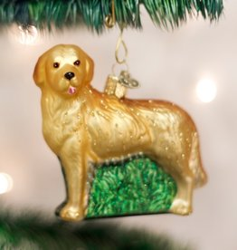 OLD WORLD CHRISTMAS GOLDEN RETRIEVER