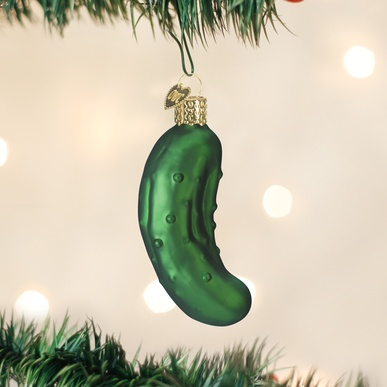 OLD WORLD CHRISTMAS PICKLE