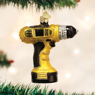 OLD WORLD CHRISTMAS POWER DRILL