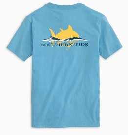 SOUTHERN TIDE KIDS SKIPJACK SUNSET T-SHIRT