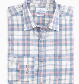 SOUTHERN TIDE OAK HARBOR PLAID SPORT SHIRT