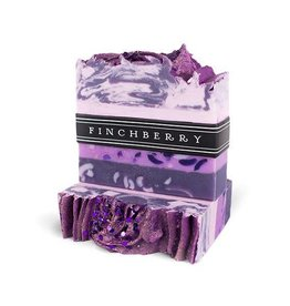 FINCHBERRY FINCHBERRY HANDCRAFTED VEGAN BAR SOAP- GRAPES OF BATH