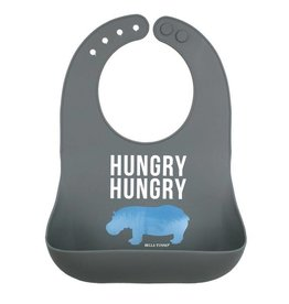 BELLA TUNNO WONDER BIB- HUNGRY HUNGRY HIPPO