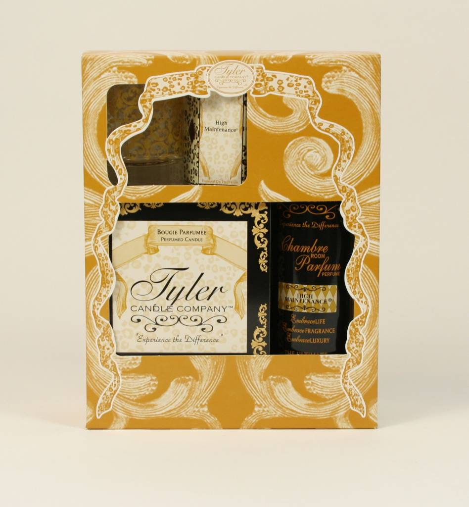 TYLER CANDLES GLAMOROUS GIFT SUITE II