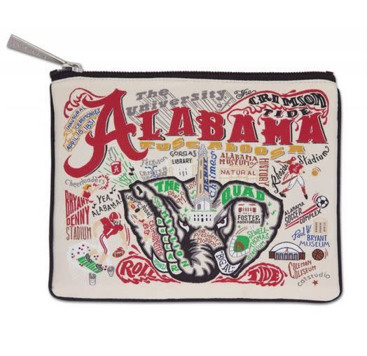 CATSTUDIO UNIVERSITY OF ALABAMA COLLEGIATE POUCH