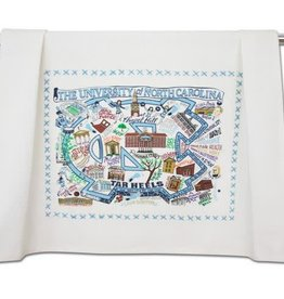CATSTUDIO CATSTUDIO COLLEGIATE DISH TOWEL UNC CHAPEL HILL