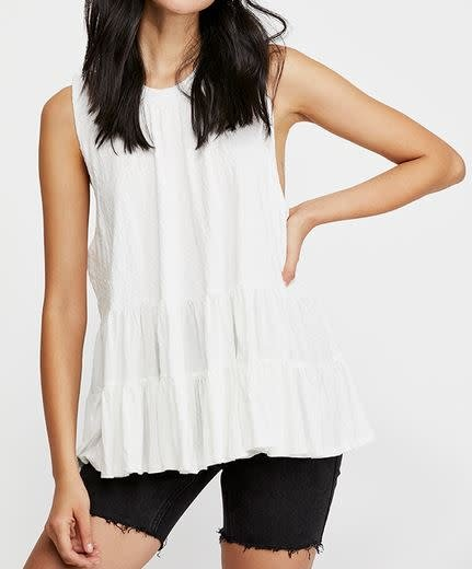 FREE PEOPLE RIGHT ON TIME TUNIC