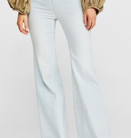 FREE PEOPLE DRAPEY A LINE PULL-ON JEAN