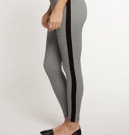 DEX HOUNDSTOOTH LEGGING PANT W/CONTRAST STRIPE