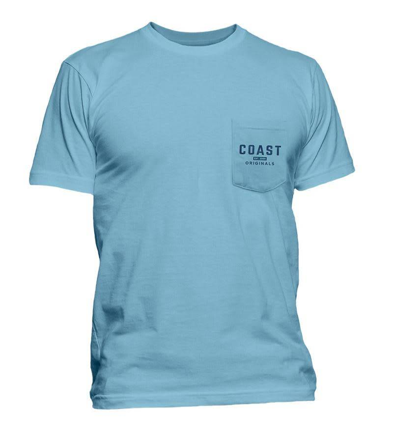 COAST AUTHENTIC GEAR SS CLASSIC TEE