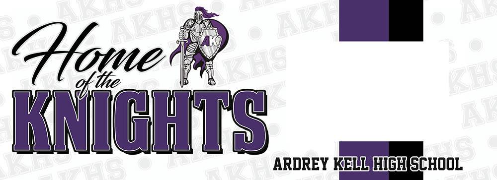 LOCAL HIGH SCHOOL SIGN/FRAME- ARDREY KELL