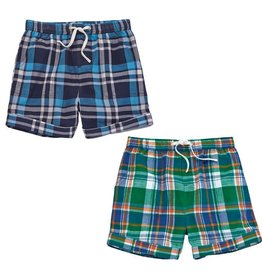 MUD PIE PLAID SHORTS