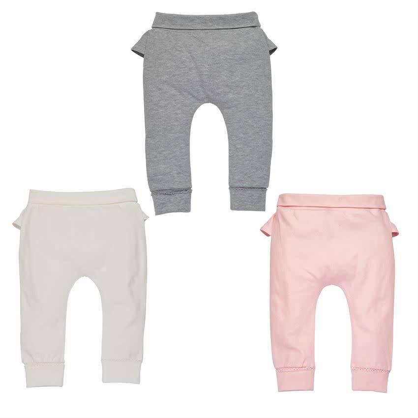 MUD PIE RUFFLE INFANT PANTS