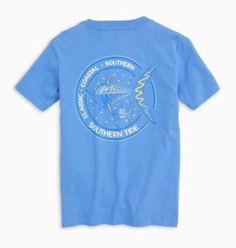 SOUTHERN TIDE YOUTH SWIMMING AWAY TEE